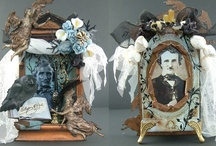 Edgar Allen Poe Inspired Art / by Laura Carson