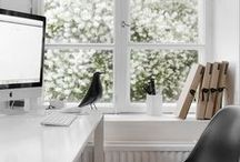 Workspace Gorgeousness / Interior design ideas, product, storage and furniture inspiration for your workspace.