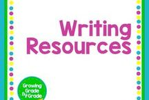 Writing Resources / Grades K-8 lessons, worksheets, printables, and content for teaching writing. Get inspirational and engaging writing ideas right here!