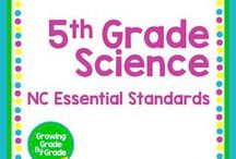 5th Grade Science: NC Essential Standards / Grade 5 materials and resources, lessons, printables, worksheets, projects, and games for Science, especially the NC Essential Standards.