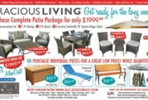 Spring Specials 2013 / Outdoor Furniture and Patio Accessory Sale starting April 1 2013