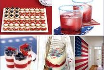 4th of July Festive Foods and Treats / by Edwina Dickert