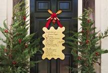 Christmas ~ At The Front Door!