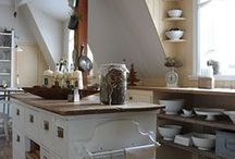 Cabinet Installation & Kitchen Inspiration / The Riverside ReStore received a donation of thousands of kitchen cabinets - here are some tutorials about how to install yours and few extra ideas on how to have it all!