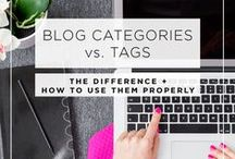 Blogging Tips + Advice / Tips, advice and tutorials to help Bloggers improve their blog.