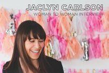 Woman to Woman: Inspiring Interviews / Interviews with Inspiring women