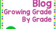 Blog: Growing Grade By Grade / www.growinggradebygrade.com I love supporting new and veteran teachers with an on-going conversation. I'm all about sharing and hearing great ideas, what works and what doesn't, and how we can do this better. Most importantly, I encourage emotional support. We're all in this together!