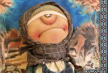 Куклы и игрушки / Идеи по созданию кукол,схемы, выкройки
