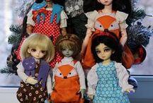 Выкройки одежды и обуви для кукол / Выкройки для кукол