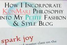 Konmari / KonMari Philosophy, style, fashion, organization, love, investment, quality, women's style, closet, drawer, dresser, how-to