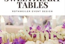 Sweetheart Tables / Inspiration for the sweetheart table at your wedding