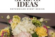 Spring Ideas / Inspiration for your spring wedding