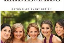 Bridesmaids Inspiration / Inspiration for your bridesmaids from dresses to gifts and even how to ask them to be a part of your wedding day!