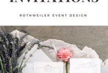 Invitation Inspiration / Inspiration for your wedding invitations