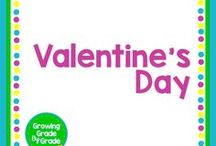 Valentine's Day / Grade K-8 Valentine's Day activities, projects, worksheets, printables.