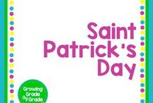 Saint Patrick's Day / Elementary and middle grades resources, lessons, projects, worksheets, and printables for Saint Patrick's Day celebrations.