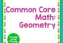 Common Core Math: Geometry / Elementary and middle grades resources, lessons, projects, worksheets, and printables for Common Core Math: Geometry.