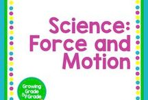 Science: Force & Motion / Elementary and middle grades resources, lessons, projects, worksheets, and printables for Science: Force & Motion.