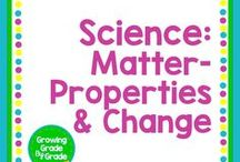 Science: Matter: Properties & Change / Elementary and middle grades resources, lessons, projects, worksheets, and printables for Science: Matter: Properties & Change.