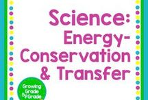 Science: Energy: Conservation & Transfer / Elementary and middle grades resources, worksheets, printables, projects, and ideas for Science Energy: Conservation & Transfer.