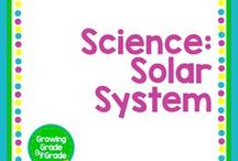 Science: Solar System / Elementary and middle grades resources, lessons, projects, worksheets, and printables for Science: Solar System.