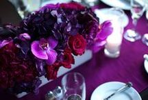 Low centerpieces / Ideas for low/smaller size wedding and event centerpieces / by Desiree Dent