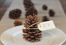 Winter Wedding Placecards / Photos of wedding place cards for winter. / by Simple Big Day