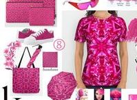 Shades of Pink / Pretty, passionate, hot shades of Pink