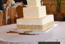 Wedding Khoncepts using Gold wedding themes / Gold wedding ideas. Elegant weddings with touches of gold, gold wedding dresses, gold reception accents. Gold!