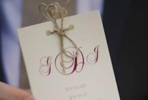 Wedding Invitation Ideas / by Simple Big Day