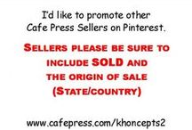 Cafe press Designers - items SOLD! on Cafe Press. / Sellers are invited to post their recently Sold ITEMS ONLY.  Must Include the State or Country of the sale.   To join board, Follow and leave comment for one of the members below and you will be added to this board. :-)   Also, all SOLD products should be General audience appropriate. Enjoy, Like and Pin!  Items may be removed if the origin of sale or the word SOLD are not included. / by Khoncepts Photo-Graphic Artist