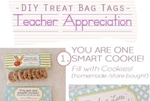 Treat Bags and Teacher Goodies / by Amy Girnas