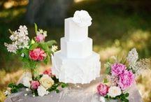 Let Them Eat Cake / Cake designs for reception