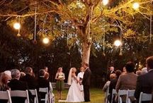 The Place I Say I Do / Decorations and ideas for the ceremony space