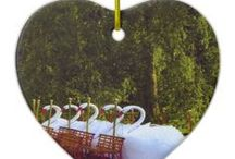 Ornaments / Year long Photo-Graphic Art Ornaments. Personalized and unique ornaments that be given to anyone for any occasion. Included are fun DIY Pinterest Pin Ornament ideas.