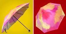 Umbrella Designs  and matching raincoats / Many years of wishing and searching for a way to create umbrellas using my designs and selling them online!!! One of my MAJOR DREAMS have come true. Trust and believe and it will happen when the time is right. Send me your favorite colors and Enjoy.  :-) Included are matching raincoats.