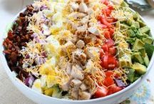 salads / by Michelle Ensign