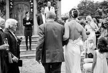 Outside weddings / Wedding ceremonies and receptions taking place outside.