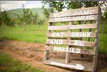 {The Signage} / Wedding Reception Signage Ideas / by {Bridget Quinn}