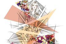 Fashion illustration / Fashion illustration tips templates and inspiration  / by Zahira Rodriguez
