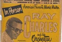 Ray Charles Promotion / Ray Charles - Posters, Handbills &c