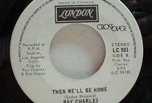 Ray Charles Singles & Sleeves / Ray Charles Singles & Sleeves / by Bob Stumpel