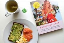 Get the Glow / In GET THE GLOW nutritional health coach to the stars Madeleine Shaw shows you that eating well can easily become a way of life, resulting in the hottest, healthiest and happiest you. Buy it here: http://tiny.cc/gettheglowbook