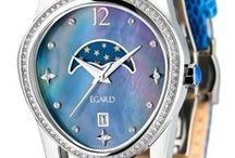 WOMENS EGARD / Stylish and affordable feminine timepieces.  Featuring the Passages Beauty collection in collaboration with William Shatner.  Passages Beauty watches come with a mother of pearl dial with Swaravski stones, and a beautiful leather strap.  All Égard watches are backed by a 3 year warranty. Shop today at  http://www.egardwatches.com/product-category/womens-watches/