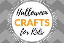 Crafts for Kids - Halloween