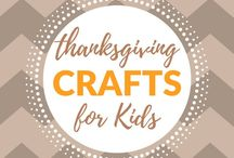 Crafts for Kids - Thanksgiving