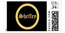 Sheffey - gifts and products for anyone named Sheffey / Samples of gift products using the last name of Sheffey as a template. Send me any name you'd like to use to personalize home decor and fashion wear.