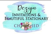 DESIGN: Invitations & beautiful stationary