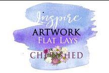 INSPIRE: Flatlays & Styled Photos for Instagram etc