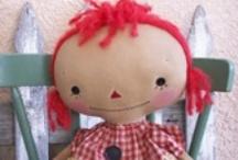 Rag Dolls & Stuffed Animals / by Little Susie Home Maker